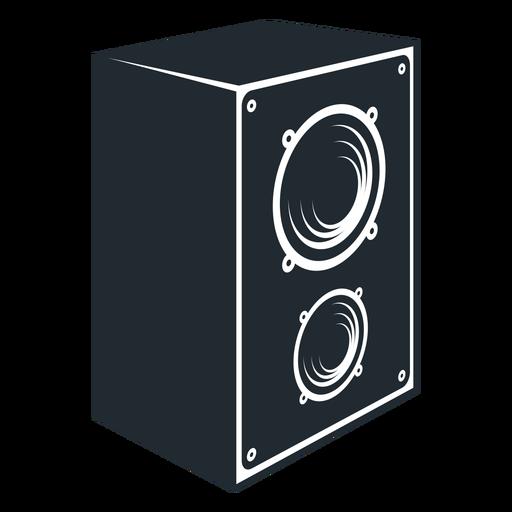 Black And White Speaker Icon
