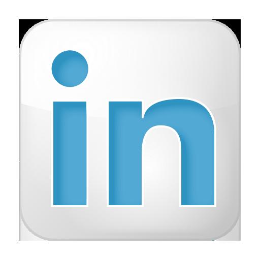 Box, Linkedin, Social, White Icon