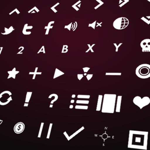 Game Icons White
