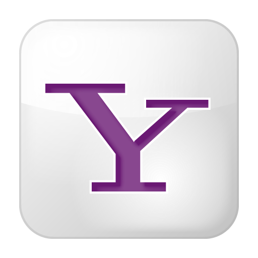 Social Yahoo Box White Icon Social Bookmark Iconset Yootheme