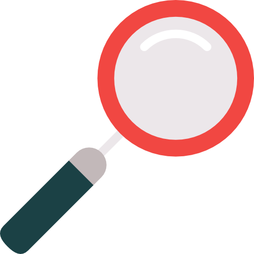 Search Engine, Zoom, Detective, Searching, Magnifying Glass Icon