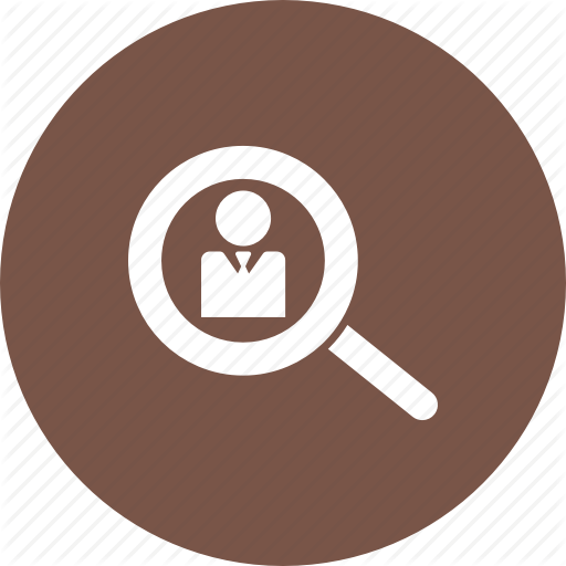 Account, Find, Locate, Magnifier, Member, Search, User Icon