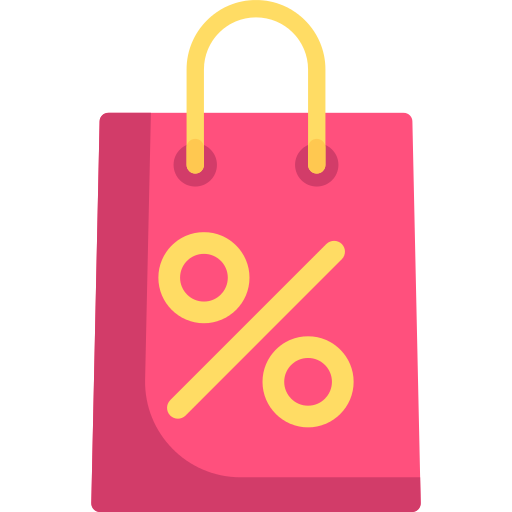 Shopping Bag Discount Png Icon