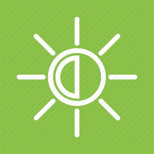 Bright, Brightness, Display, Light, Sun Icon