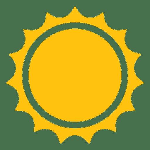 Sun Sharp Rays Icon