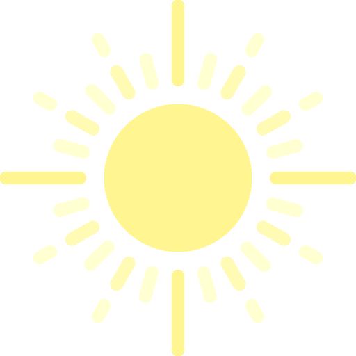 Sunshine, Sky, Sunbeam, Spring, Summer, Clouds, Sun Icon
