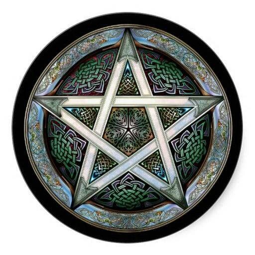 Rustic Celtic Pentagram Cool Pagan Stuff Celtic Designs
