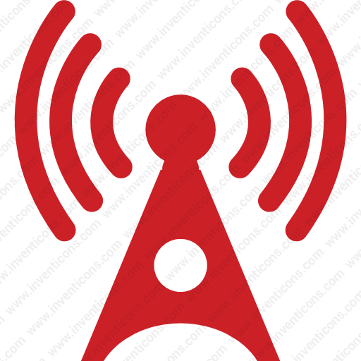 Download Antenna,radio,tower,wifirss,signals Icon Inventicons
