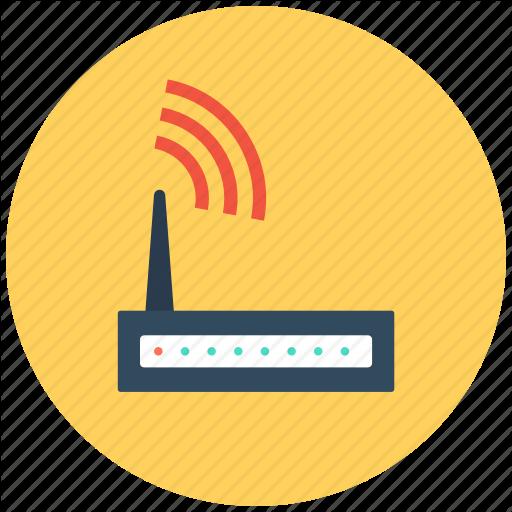 Internet Device, Wifi Modem, Wifi Router, Wifi Signals, Wireless