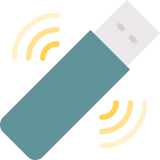 Wifi Signal Pendrive Png Icon