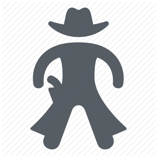 Cowboy, People, Usa, West, Western, Wild Icon