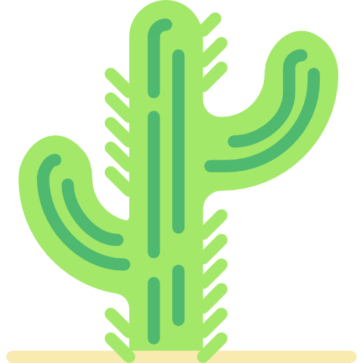 Cactus Icon Wild West Collection Smashicons