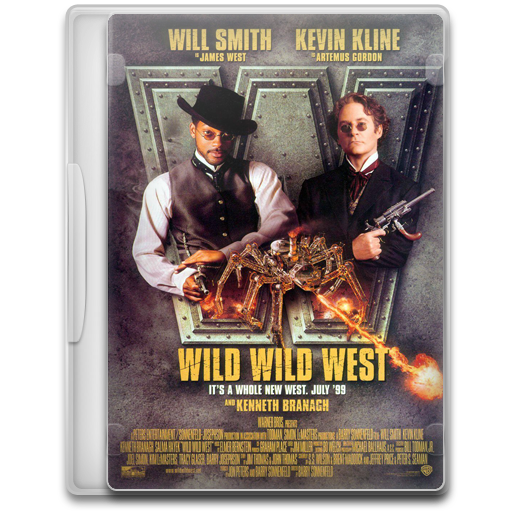Wild Wild West Icon Movie Mega Pack Iconset