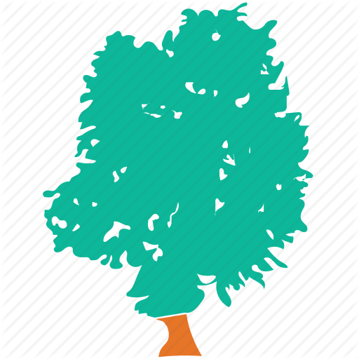 Generic Tree, Shrub, Tree, Weeping Willow Icon