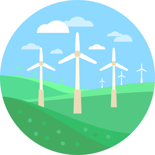 Windmills Icons Free Download