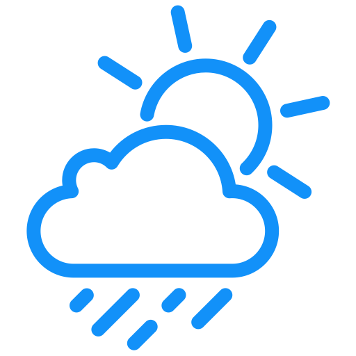 Weather Icon Showers, Weather, Wind Icon Png And Vector For Free