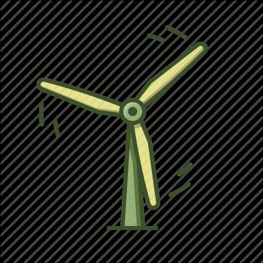 Eco, Power, Wind, Windmill, Windturbine Icon