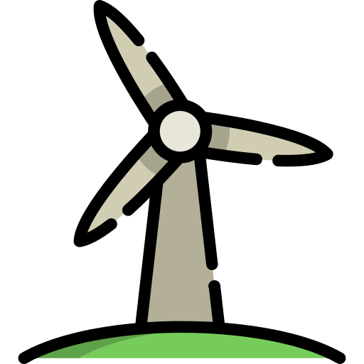 Wind Power Png Icon