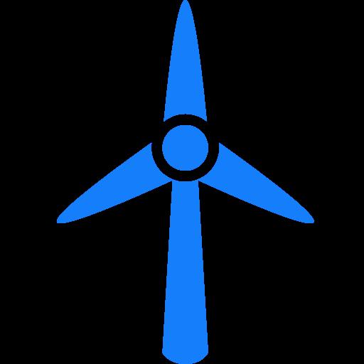 Wind, Turbine Icon
