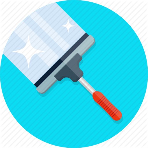 Brush, Clean, Cleaning, Glass, Window, Wiper Icon