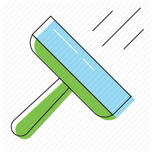 Duster, Floor, Window Wash, Windows Cleaner Icon