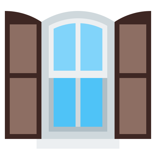 House, Window Icon Free Of Household Things Icons