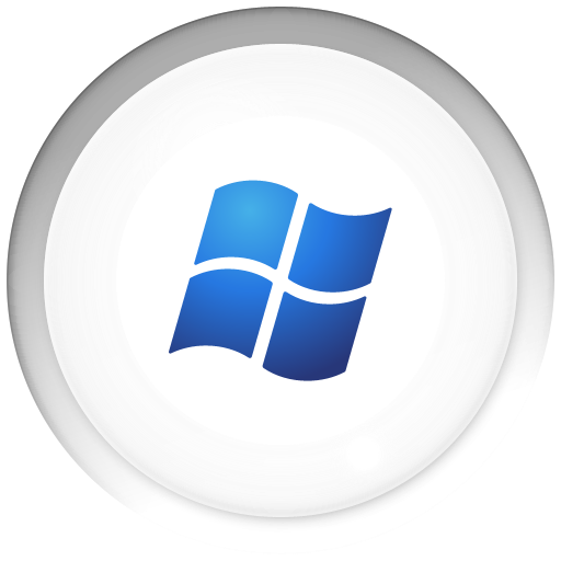Inward Bubble Windows Icons, Free Inward Bubble Windows Icon