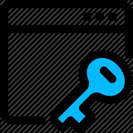 Application, Key, Private, Window Icon