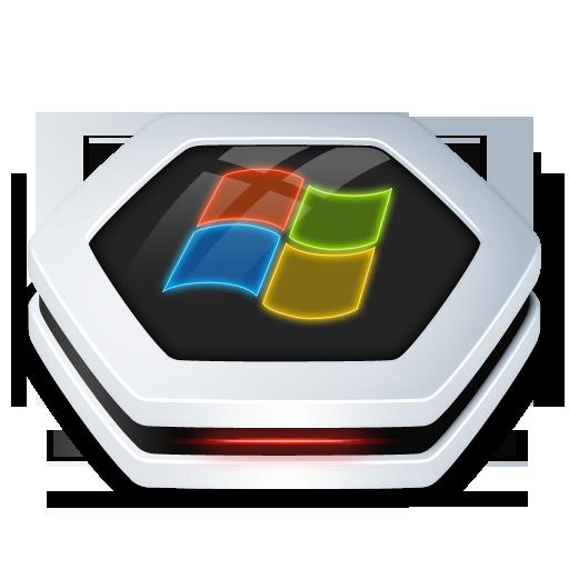 Drive Windows Icon Senary Drive Iconset Arrioch