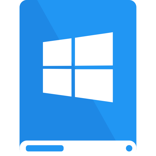 Windows Flat Dodgerblue Icon