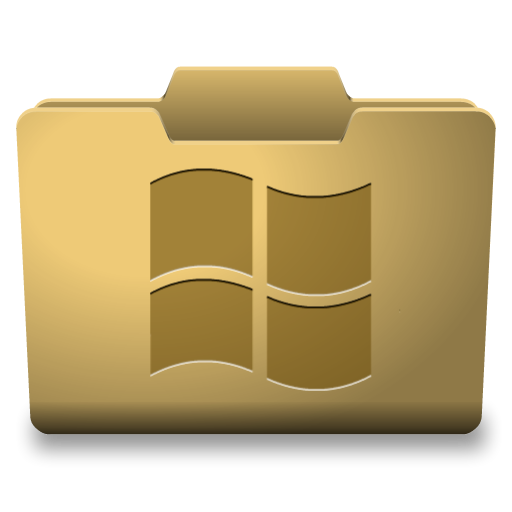 Yellow Windows Folder Icons Pack Images