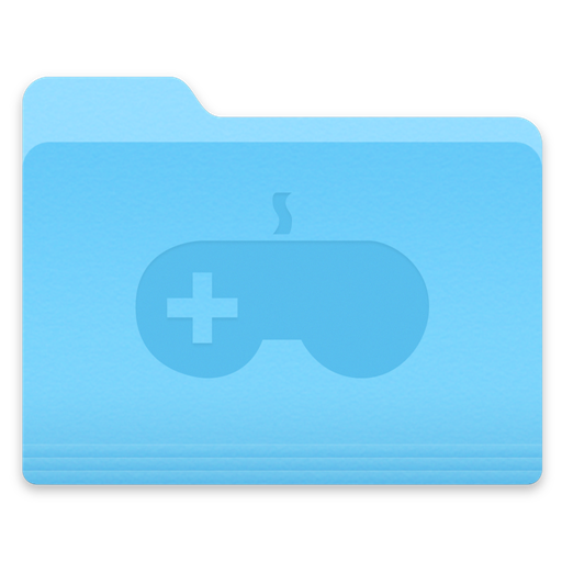 Yosemite Games Folder Icon