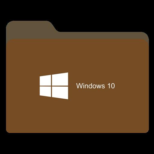 Folder Brown W Icon