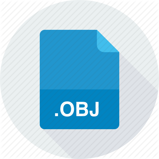 Obj, Wavefront Object Icon