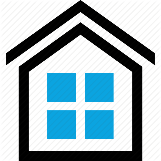 Home, House, Investment, Rooftop, Windows Icon Icon, Home Icon