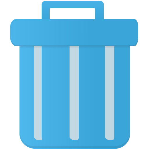 Trash Icon Flatastic Iconset Custom Icon Design