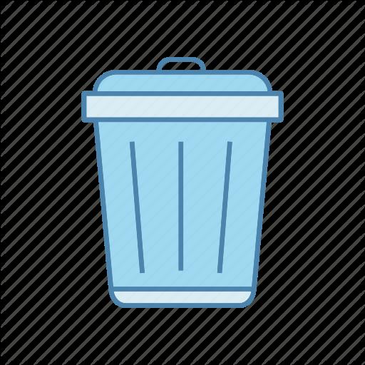 Bin, Can, Garbage, Recycle, Rubbish, Trash, Waste Icon
