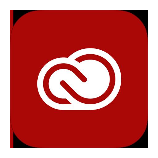 Adobe, Cloud, Creative, Metroui Icon