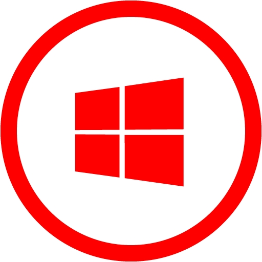 Red Windows Icons Images Windows Icons Red, Download, Windows