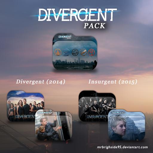 Divergent Folder Icon Pack