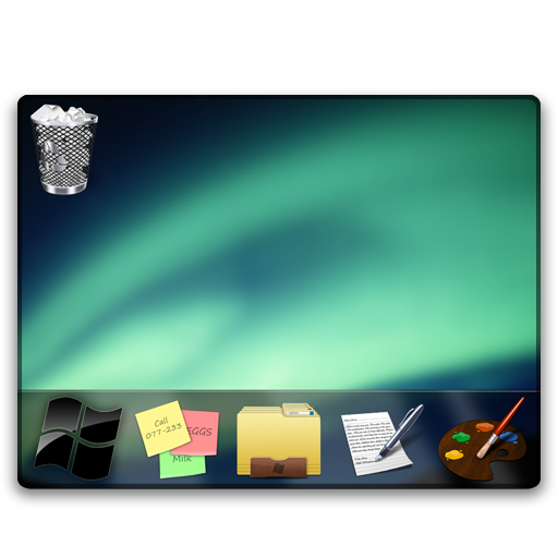 Desktop Icon Iwindows Iconset Wallec