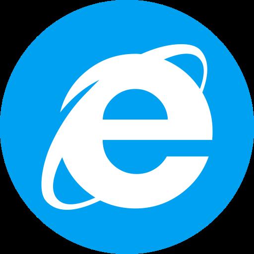 Browser, Explorer, Internet, Microsoft Icon