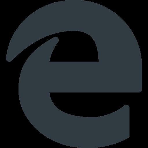 Edge, Browser, Microsoft, Explorer Icon