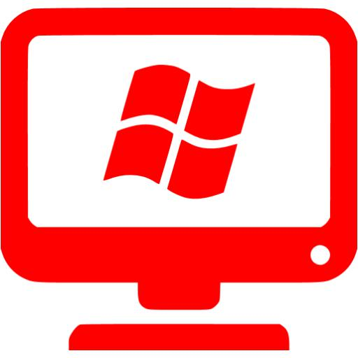 Red Windows Client Icon