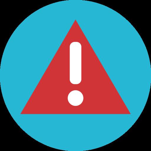 Warining, Alert, Error, Attention Icon