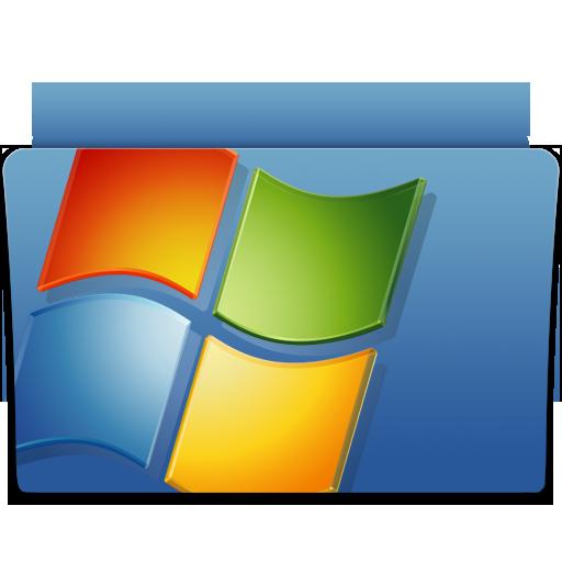 Backup, Folder, Microsoft, Windows Icon