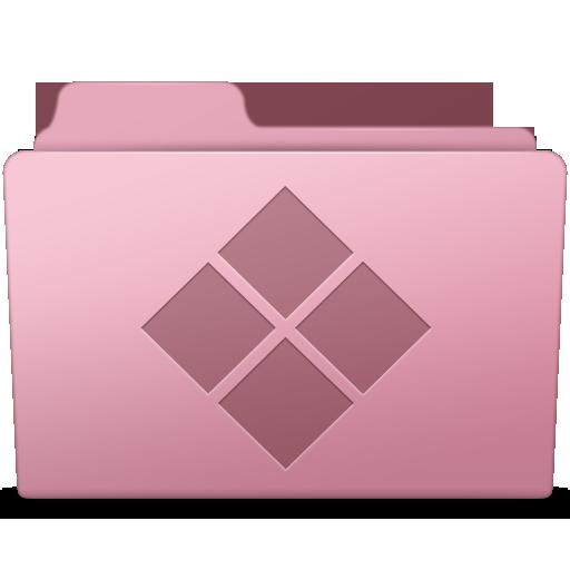 Windows Folder Sakura Icon Smooth Leopard Iconset Mcdo Design
