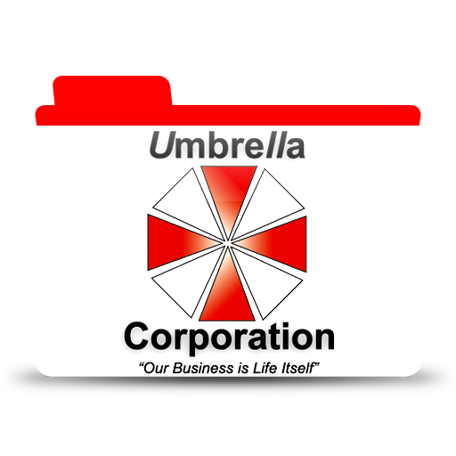 Umbrella Corp, Folder, Icon Free Of Colorflow Icons