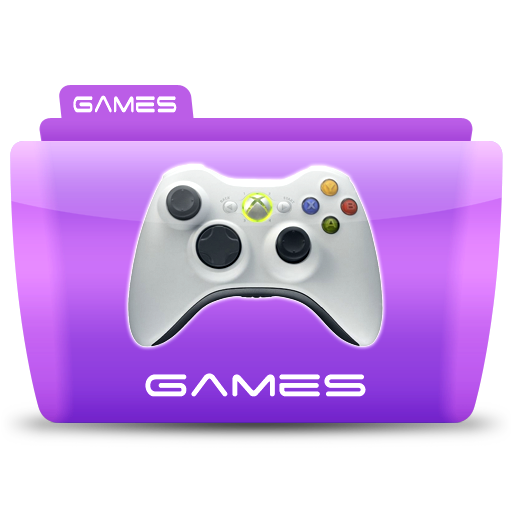 Games, Folder, Icon Free Of Colorflow Icons