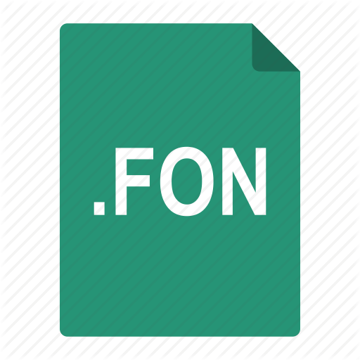 , Fon, Font, Format, Fount, Type, Windows Icon